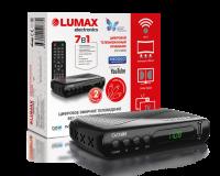 Приставка для цифрового ТВ Lumax DV1108HD (DVB-T2/C, HD,Dolby Digital)