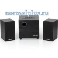 Колонки 2.1 SmartBuy SPARTA, MP3, FM, корпус МДФ, чёрный