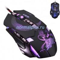 Игровая Мышь USB 2.0 /3500Dpi/7D/бесшумная/меняющаяся подсветка