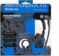 Наушники Defender Warhead G-280 синий