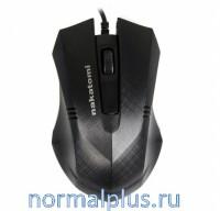 Мышь Nakatomi MRON-04U/USB/Black/проводная