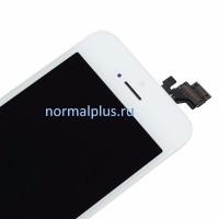 Дисплей для iPhone  5S белый чёрный