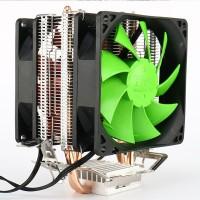 Кулер для процессора Intel LGA775/1156/1155 и AMD AM2/AM3/AM4.90 мм 3Pin