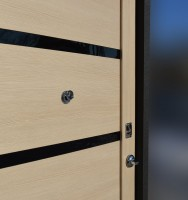 Дверь металическая входная АЛМАЗ-11 (Лиственница мокко)2050×880×960×100 мм(под заказ)