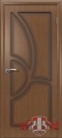 Межкомнатная дверь «Греция» глухая (светлый дуб)
