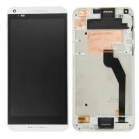 Жк-дисплей с сенсорным экраном для HTC Desire 816 H D816h(белый)