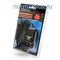 Адаптер питания Robiton PN800S/AUTO от 12V,800 mA,8 насадок,от 1,5-12 V