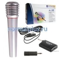 Микрофон DEFENDER MIC-140, беспроводной, радиус 15 м