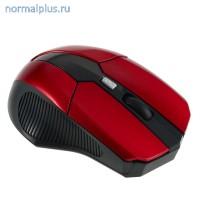 Мышь игровая беспроводная  Red-Black 2000dpi/USB/7 кнопок