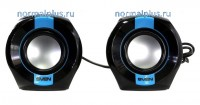 Колонки Sven 150 (RMS 5w: 2х2,5) USB чёрно-синий