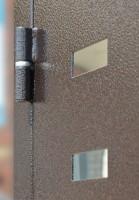 Дверь металическая входная Т-95 (Светлый,тёмный венге) 2050×860×960×90 мм