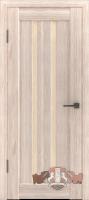 Межкомнатная дверь «Лайн 2» стекло (венге)