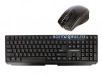 Клавиатура Nakatomi Navigator KMRON-1010U, RF 2.4G - USB, радиоклав-ра + опт.мышь 4D