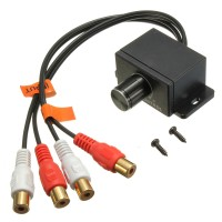Автомобильный регулятор басов,выхода кабелем RCA