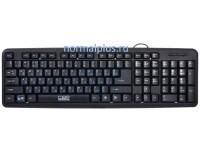 Клавиатура CBR KB-107,черная,107 кл,USB