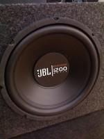 Сабвуфер активный K-4.8 (HANDMADE) динамик 12 д.1200 watt  JBL GT-X1200