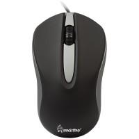Мышь проводная Smartbuy ONE 329 черно-серая