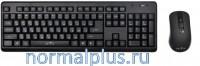 Клавиатура + мышь Oklick 270 M Black USB