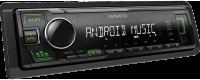 Автомагнитола Kenwood KMM-105GY 4х50Вт, 1 RCA, FLAC, 96 кГц
