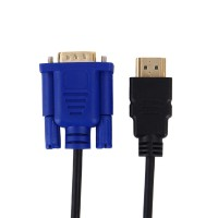 Кабель-переходник с HDMI на VGA  1080р