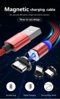Магнитный USB-кабель USLION micro-USB для быстрой зарядки и передачи данных