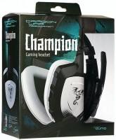 Гарнитура QUMO Dragon War Сhampion GHS 0001, стерео, интерфейс 3,5 Jack, с микрофоном