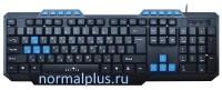 Клавиатура Oklick 750G, мембранная, USB, черный