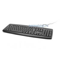 Клавиатура проводная Gembird KB-8351U-BL,черная, USB, 104 клавиши