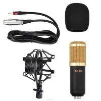 Микрофон конденсаторный BM-800, черный