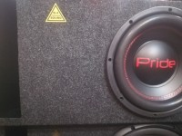Сабвуфер активный K-4.29 от K-4 SOUND , динамик Pride 10д rms-300Watt (HANDMADE)