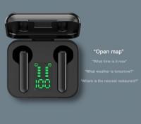 Наушники TWS L12 Беспроводные Bluetooth 5,0  с микрофоном зарядным устройством