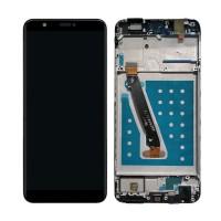 Дисплей в сборе с рамкой для huawei P Smart FIG LX1 L21 L22 чёрный