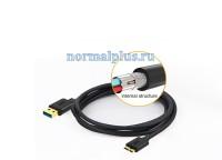 Кабель USB 3.0  1 метр ,для быстрой зарядки и синхронизации данных