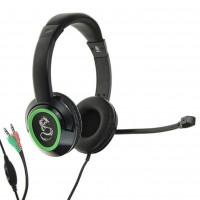 Наушники QUMO Dragon War FLEX GHS 0003,микрофон, 3.5 Jack, стерео