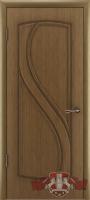 Межкомнатная дверь «Грация» глухая (светлый дуб)