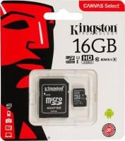 Карта памяти Kingston 16Gb microSD  класс 10