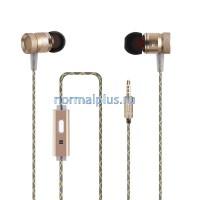 Наушники G63  микрофон , стерео бас ,металлические