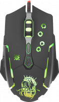 Мышь игровая Defender Killer GM-170L оптика,7кнопок,800-3200dpi