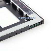 Переходник с CD/DVD-ROM на дополнительный HDD SATA SSD жесткий диск 2.5