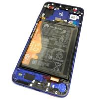 Дисплей + тачскрин для Huawei Honor 20 (YAL-L21) Синий Оригинал