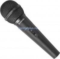 Микрофон беспроводной для караоке Defender MIC-142 черный, кабель 5 м