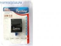 Устройство чтения карт памяти SMARTBUY SBR-700-K USB3.0 черный