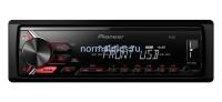 Автомагнитола Pioneer MVH-190UB 4х50 Вт,USB ,FM,Aux-вход