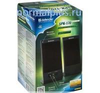 Колонки Defender 2.0 SPK-170 (2 х 2 Вт, USB-питание) Black