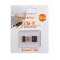 Флеш-накопитель USB 32GB Nano Black QUMO