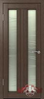 Межкомнатная дверь «София ДО» стекло (венге)
