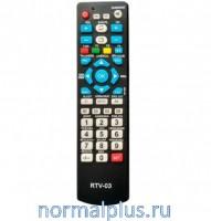 Пульт для телевизоров универсальный Uni RTV-03