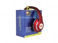 Наушники JBL V33 Black (Беспроводные, Накладные с микрофоном, Bluetooth, складная конструкция, MP3 плеер, FM радио, кнопка ответа)